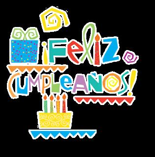 Feliz Cumpleaños en Letras, parte 1