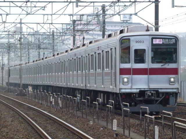 東京メトロ有楽町線 普通 森林公園行き1 東武9000系