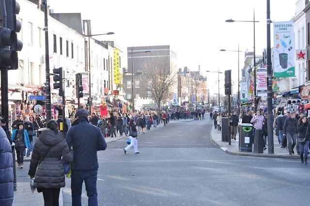 Camden Town Market crowds