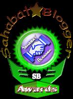 Sahabat Blogger Award, award Rama88, award sahabat