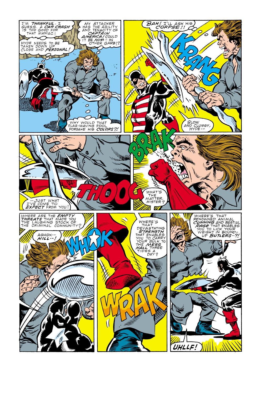 Captain America (1968) Issue #340 #270 - English 21