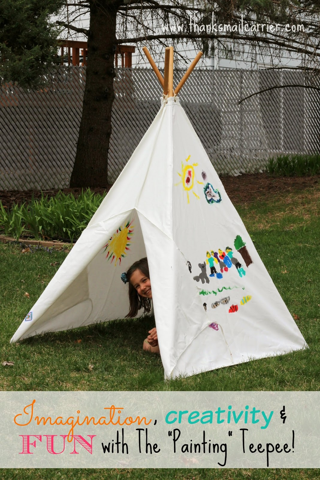 Pacific Play Tents The Painting Teepee review