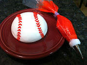 I'm working on a baseballthemed cake and wanted to incorporate an actual .