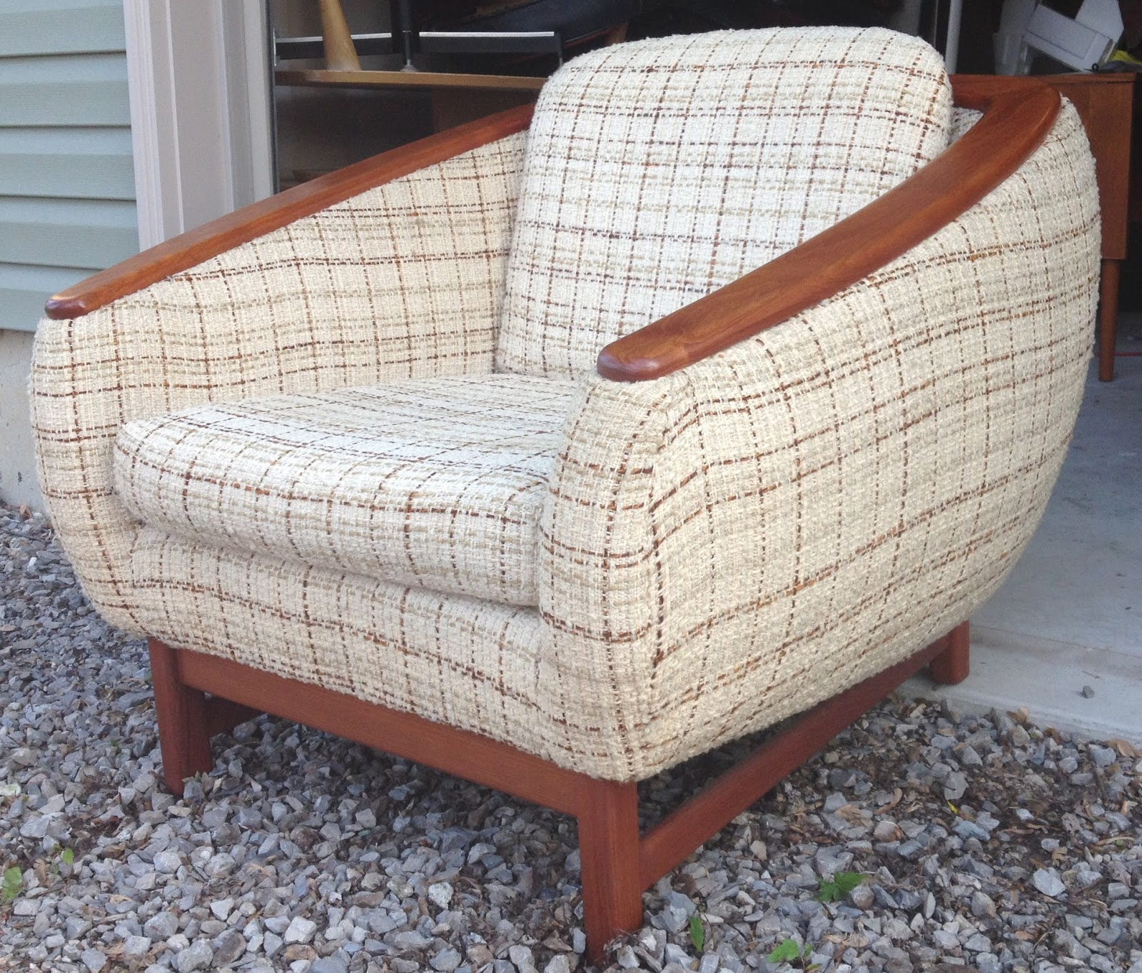 time capsule now sold vintage teak lounge chair danish modern style