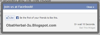 like box facebook, like box melayang, like box popup, like box melayang di blog