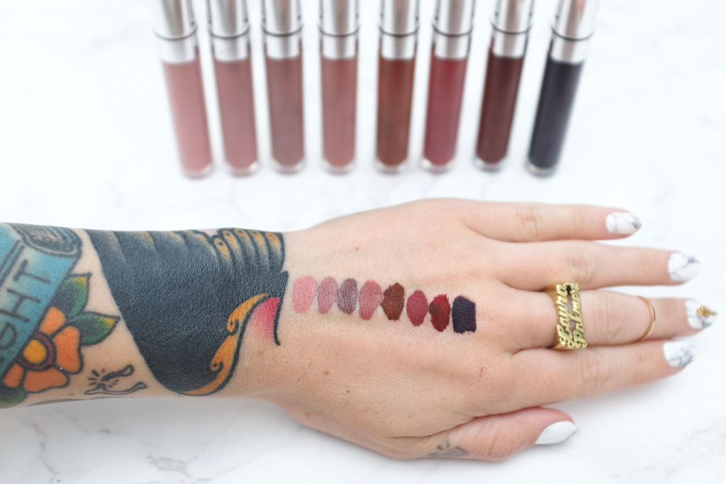 ColourPop Cosmetics Ultra Matte Lip Swatches - Mini Penny Blog
