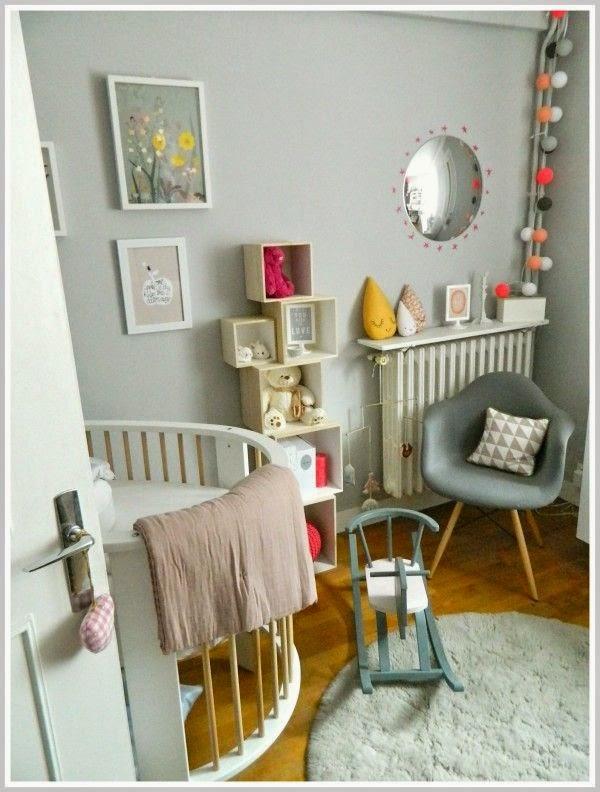 Pellmell cr ations une chambre pour un b b surprise - Guirlande lumineuse chambre bebe fille 2 ...
