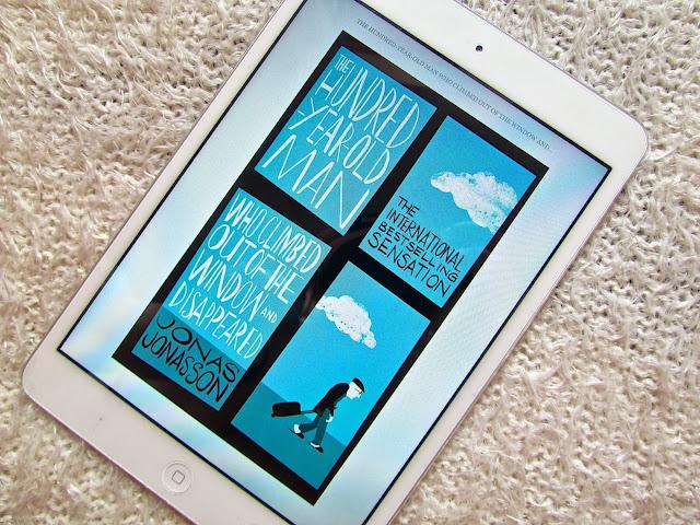 book-100yearoldman-jonas-jonasson-kindle-ipad-app-reading-review