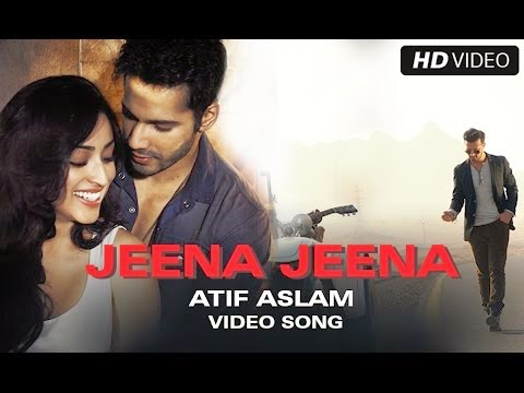 Jeena Jeena Guitar Chords Badlapur - Atif Aslam, Varaun Dhawan, Yami Gautam, Huma Qureshi