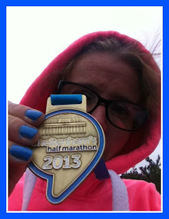 Running-half-marathon-medal-selfie-Magic-Moments