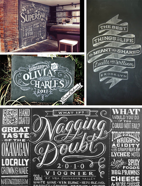 Gillyweed mosaic monday chalkboard font Chalkboard typography