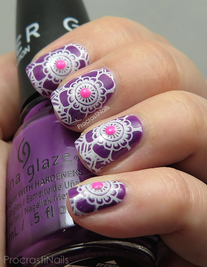 Bright stamping nail art with moyou london explorer plate 03 bright stamping with china glaze moyou london and konad prinsesfo Images