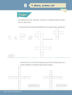 Apoyo Primaria Desafíos matemáticos 4to grado Bloque I lección 8 Y ahora, ¿Cómo va?