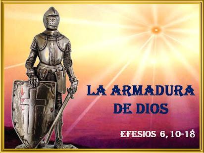 LA ARMADURA DE DIOS (SAN PABLO A LOS EFESIOS 6, 10-18)