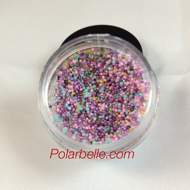 Beaded Nail Polish: Polarbelle: New Fingerpaints Candy Coated Nail Polish And