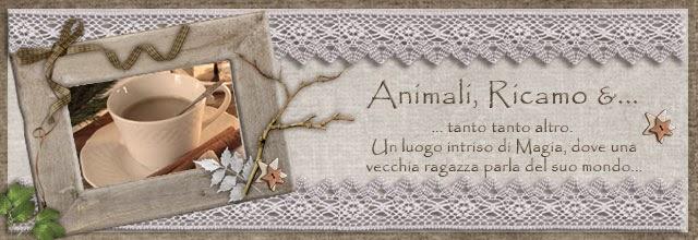 Animali, ricamo e...
