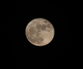 Almost a full moon
