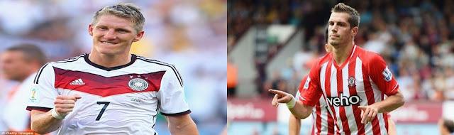 Bastian Schweinsteiger dan Morgan Schneiderlin bergabung MU -  REZEKIBOLA.COM | AGEN BOLA, AGEN CASINO, AGEN TOGEL ONLINE INDONESIA TERPERCAYA