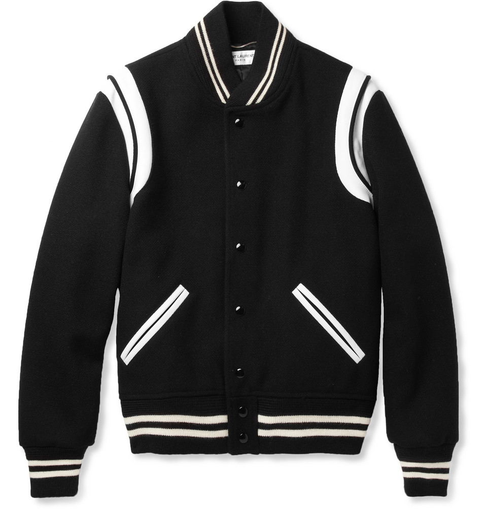 00O00 Menswear Blog: Niall Horan's Saint Laurent varsity jacket - 'One Direction: This Is Us' World Premiere in London August 2013