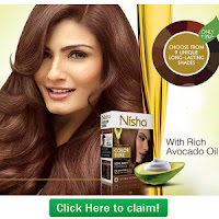 Free!! Free!! get  Prem Nisha Color Sure Sample Via  Premhenna