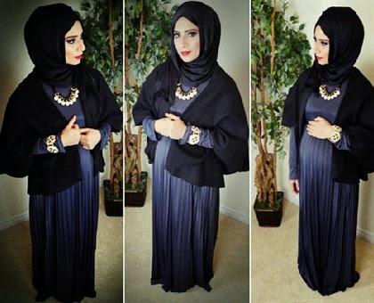 Cantik dengan Pashmina Ala Saman Munir, Stylist Asal Kanada