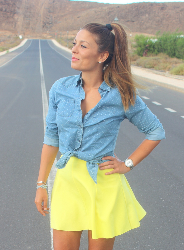 Denim_&_Lemon_Yellow_Skirt_The_Pink_Graff_01