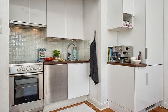 apartamento de solteiro - solução para sala de jantar pequena - preto e branco na decoração - convivência em pequenos espaços