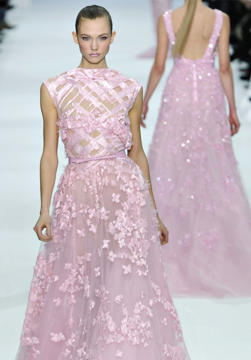Elie Saab haute couture spring 2012