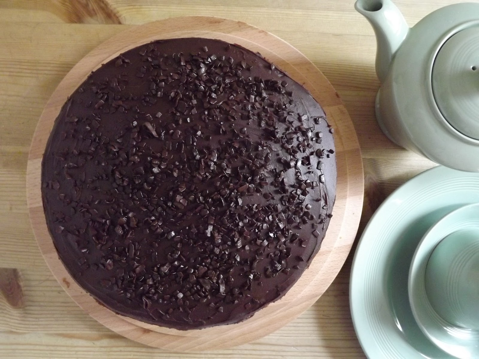 Fold in the Flour: Simply Chocolate Cake