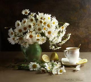 Hermosas Flores Cuadros Realistas Oleo