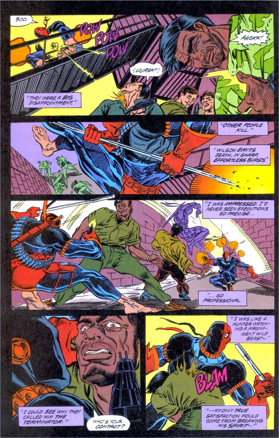 Deathstroke (1991) Issue #12 #17 - English 12