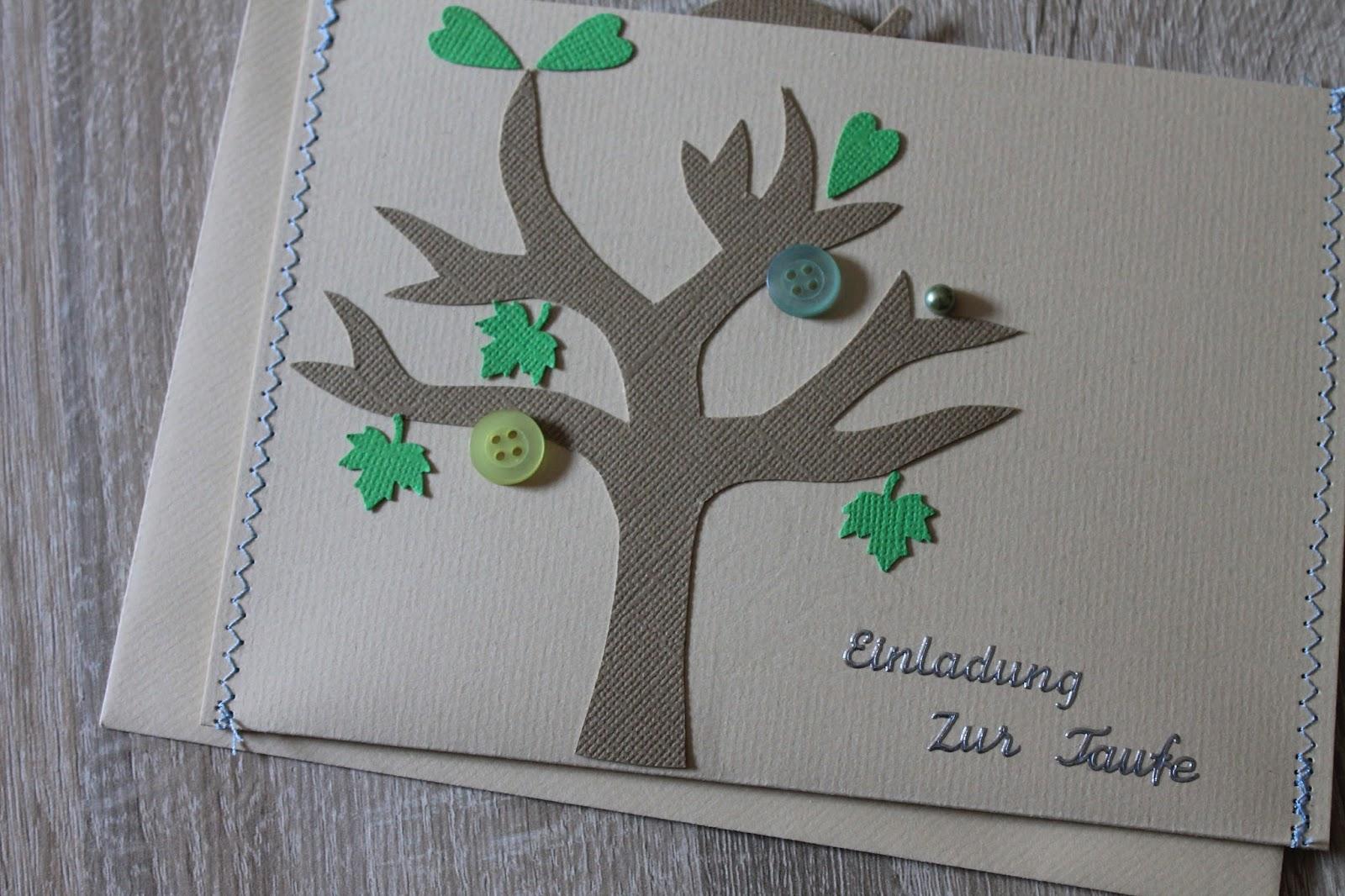 Something selfmade kreatives basteln einladungskarten f r die taufe - Bastelideen zur taufe ...