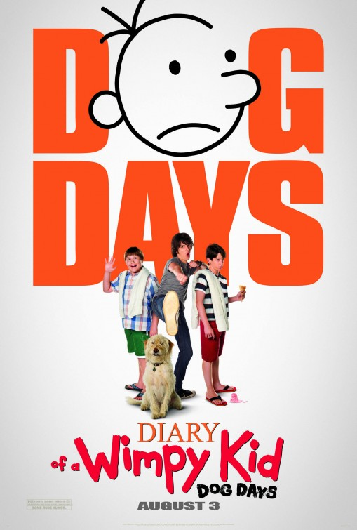 Diary Of A Wimpy Kid 3 Dog Days Poster Teaser Trailer