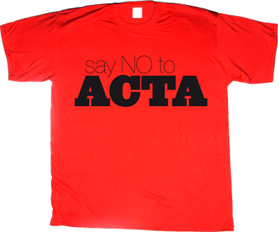 acta activism internet 2.0 useless copyright useless patents useless Politics t-shirt ephemeral-t-shirts