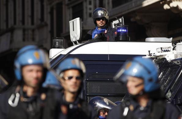 Протестите в Европа 14.11