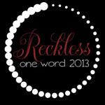 My One Word Resolution
