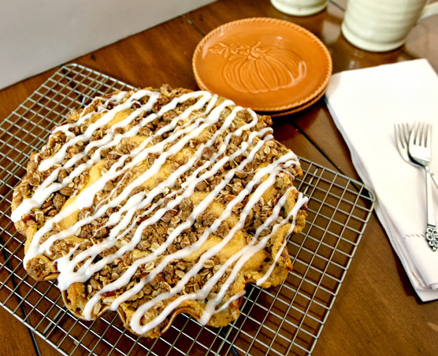 cinnamon roll pumpkin pecans recipe