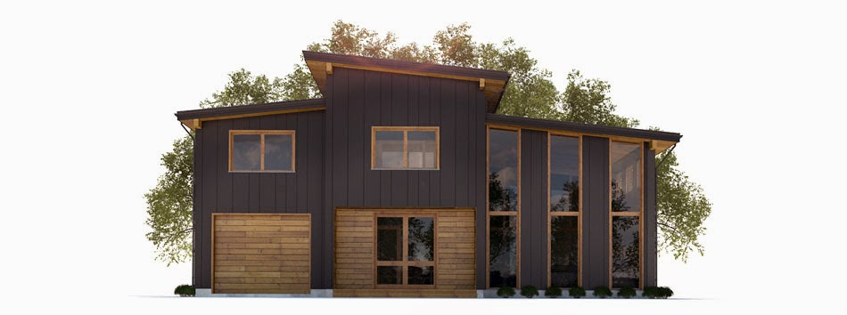 Proyectos de casas modernas proyecto de casa moderna ch300 for Proyectos casas modernas