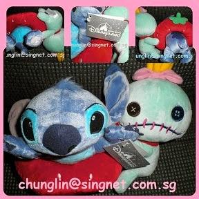2010 HKDL SummerFun Stitch + Scrump