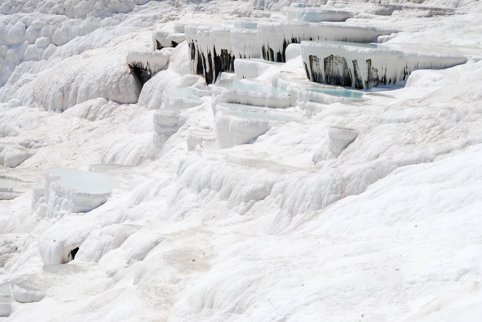 Places to visit in Turkey : Pamukkale