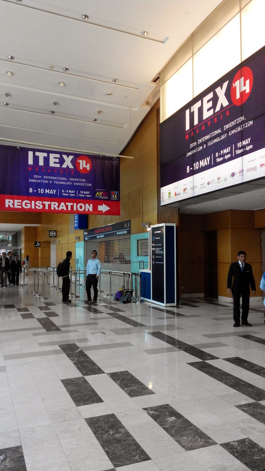 itex 2014, klcc convention centre