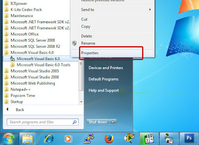 Cara Setting VB 6.0 Pada Windows 7 dan 8