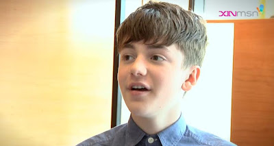 Greyson Chance Underwear Thief Singapore Interview video