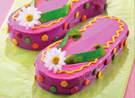 How To Make A Flip Flop Cake