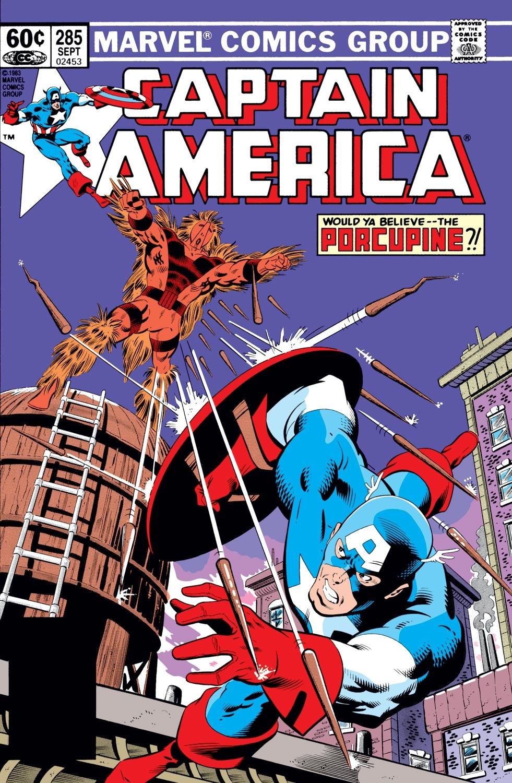 Captain America (1968) Issue #285 #201 - English 1