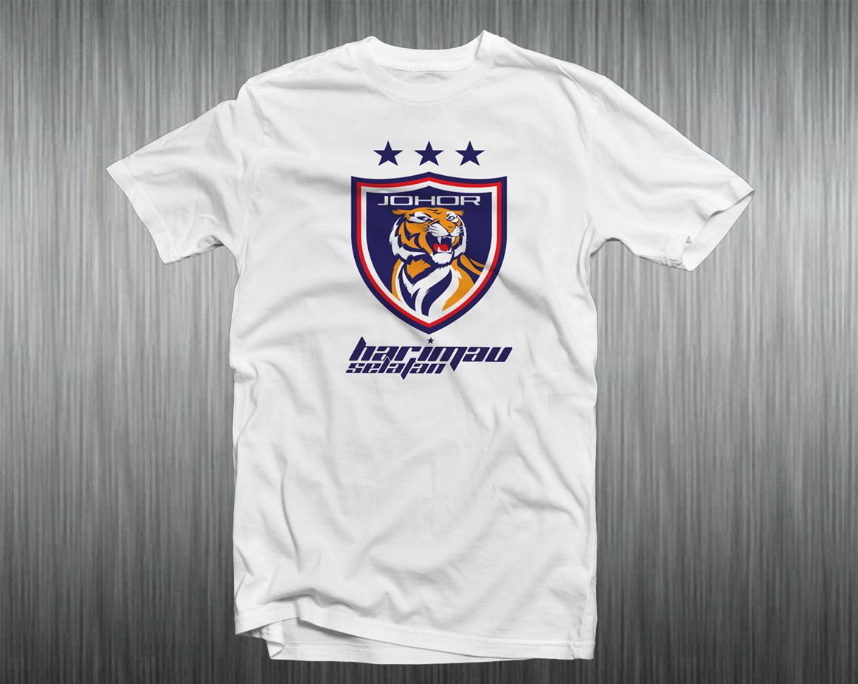 Design t shirt johor - White Price Rm 60