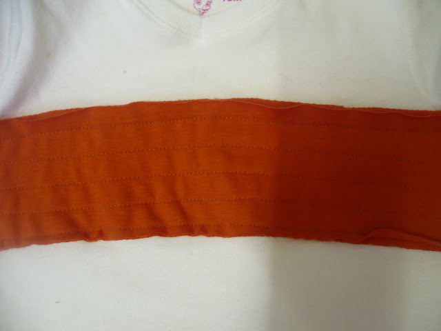 sewing chenille stripes