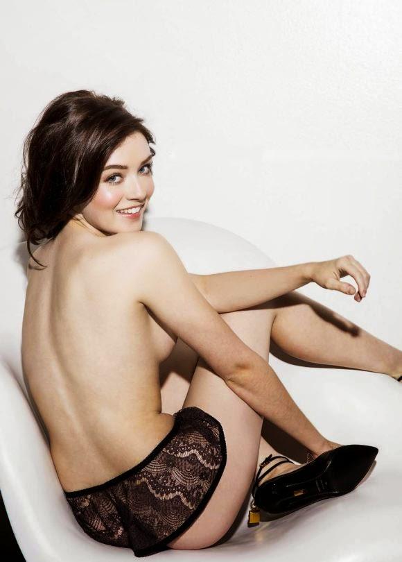Sarah Bolger Esquire Magazine Bikini March 2015