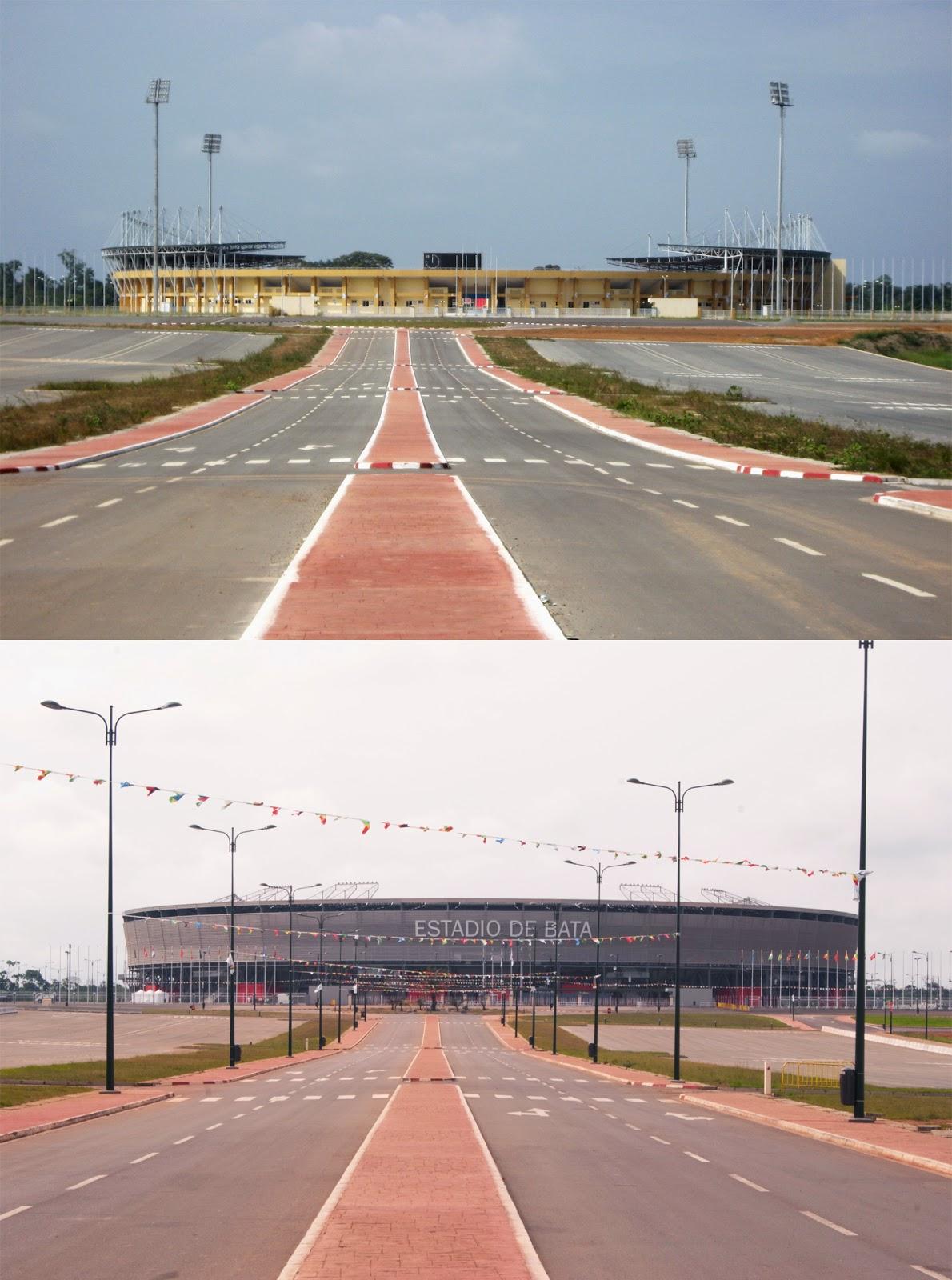 Estadio de Bata ristrutturazione
