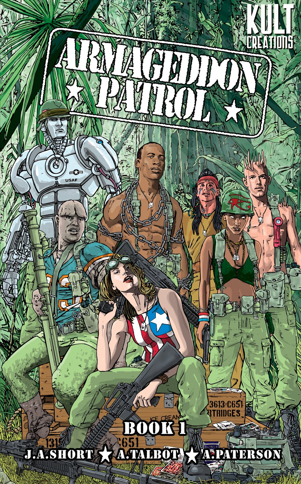 Buy ARMAGEDDON PATROL BOOK 1 BELOW!